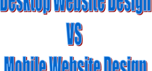 3 Core Differences Between Desktop Website Design and Mobile Website Design