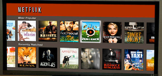 Netflix app for Google TV