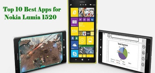 Top 10 best apps for Nokia Lumia 1520