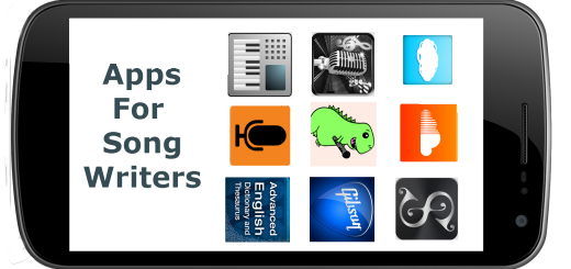 Top 10 Best Apps for Song Writers1