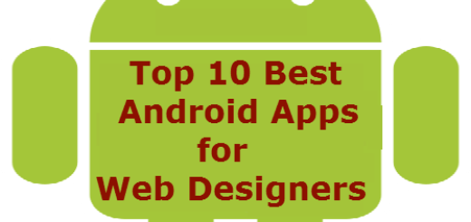 Top 10 Best Android Apps for Web Designers