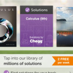 chegg iPhone app for high school student