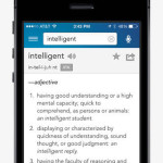 dictionary iPhone app for high school student