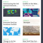 evernote iPhone app for high school student