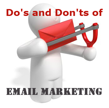 Do's and don'ts of e-mail marketing