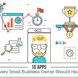 10 Apps Every Small Business Owner Should Have- Infographic